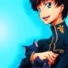 swordofzero: (me and my cat)