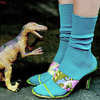 kiki_miserychic: A Dinosaur and Kate Spade Shoes Fairytale (ashlee ~ neon ~ pj)