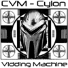 kiki_miserychic: representation of the cylon vidding machine with centurion over tv broadcast outage screen (cylon vidding machine)