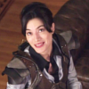 hopefulnebula: HG Wells from Warehouse 13 wearing her Imperceptor Vest and looking up at the camera (HG Vest)