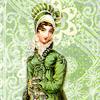 redsnake05: Green regency lady (General: green regency lady)