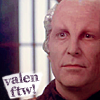 "nenya_kanadka: Jeff Sinclar as Valen, captioned ""Valen ftw!"" (B5 Valen ftw!)"