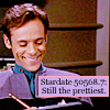 "nenya_kanadka: Julian Bashir captioned ""Stardate 50568.7: Still the prettiest"" (ST Julian ""still the prettiest"")"