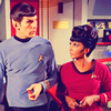 nenya_kanadka: shippy picture of Spock and Uhura from Star Trek TOS (ST Spock/Uhura TOS)