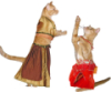 lady_myfanwy: (cats belly dancing)