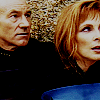 rhivolution: Picard and Beverly get close in the TNG ep 'Attached' (UST; don't leave home without it: Picard)