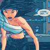 radioactivepiss: Cassandra Cain in bandages glaring ([Batgirl] get it)