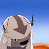 whitelotusmods: Appa from Avatar sitting in the desert (Appa!)