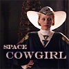 "damkianna: A cap of the Reverend Mother from the Dune miniseries, with accompanying text: ""Space cowgirl."" (Default)"