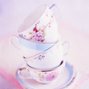 jaxadorawho: (MISC ☆ Tea ~ pile of pink teacups)