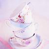 jaxadorawho: (MISC ☆ Tea ~ pile of pink teacups)