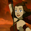 lokifan: Hero shot of Suki from AtLA smiling (Suki: hero)