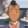 "lokifan: happy Sokka wearing the ""wisdom"" mark (Sokka: wisdom)"