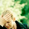 barometry: ([fringe] hand to forehead)
