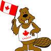 evaine: (Beaver waving Flag)