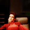 ar: Kira Nerys from DS9 flopped in a chair. (ds9 - kira hmmmm)