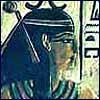 vaalea: Wall painting of Nit. (Kemet ~ Nit)