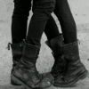 vampthenewblack: Boys in skinny black jeans and boots. (skinny jeans and boots)