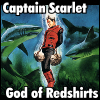 spiralsheep: Captain Scarlet is the god of redshirts (spiralsheep Captain Scarlet Redshirt God)