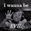 "jumpuphigh: Eartha Kitt with text ""I wanna be EVIL"" (Evil)"