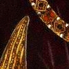 rydra_wong: Close-up of 15-century clothes; a jewelled chain and a black velvet sleeve slashed to show gold fabric inside. (ricardus rex)