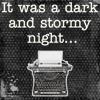 pretzels: (dark and stormy night)