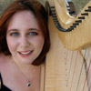 pippins_scarf: Picture of me and my harp. (Harpie)