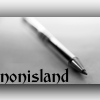"nonisland: image of a pen with text ""nonisland"" ([Merlin] love & destiny)"