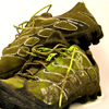 ridicully: a pair of dirty trainers (Shoes, running)