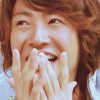 topazera: Aiba Masaki with his hands pressed to his lips in extreme excitement (嵐: = 90% dorkiness / 10% peer pressure)