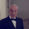 mightthinkthat: Francis, in a tux, with a black eye (beaten but not surrendered)
