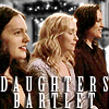 scrollgirl: zoey, ellie, and liz bartlet (ww daughters)