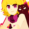 """voidedrogue: art by <user name=""""hachuu"""" site=""""tumblr.com""""> (+ with a cat)"""