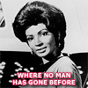 scrollgirl: uhura; text: where no man has gone before (trek to boldly go)