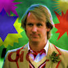 diabolicalfiend: Peter Davison with a hilariously 'you're completely daft' expression. (Idiot is faded against the picture). (daft)
