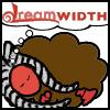 ahsoka: A sleeping sheep with togruta montrals and lekku dreams of Dreamwidth (Togruta Dreamsheep)