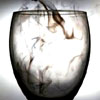 particoloured: a wine glass filled with smoke (not every shadow has a light.)