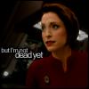 fai_dust: Star Trek; DS9: 7x03 (startrek3: 7x02 - not dead yet, startrek, startrek: .kira, .back on track, startrek3, actor: nana visitor)
