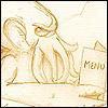 andraste: Cthulu (Cthulu Browses the Menu)
