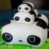 snazzy: panda cake; cures depression (panda cake)