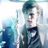 lielac: Eleventh Doctor holding up his screwdriver. (doctor screwdriver)