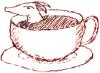 pseudomonas: teeny dragon in a teacup (dragon)