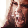 leanwellback: katherine vamped out, fangs exposed (tvd- pull your collar up)