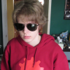 doctorscaryteeth: The PB as Dave Strider, wearing sunglasses and a Hero of Time hoodie and an impassive expression. (§ imdb flu: dave strider)