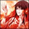 inarticulate: Gakkou de Atta Kowai Hanashi Dating Sim (Apathy): Iwashita bathing in blood. (うふふふふ…)