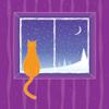 marcicat: (cat in snowy window)
