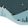 marcicat: (penguins sliding)