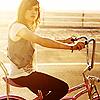 self_espresso: Ellen Page on a bike. (I want to ride it where I like (bike))