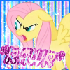 tsukinofaerii: Fluttershy looking very annoyed (MLP: Fluttershy RAWR)