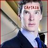 enigel: Benedict Cumberbatch as Captain Martin Crieff (Cabin Pressure CAPTAIN Crieff sir)